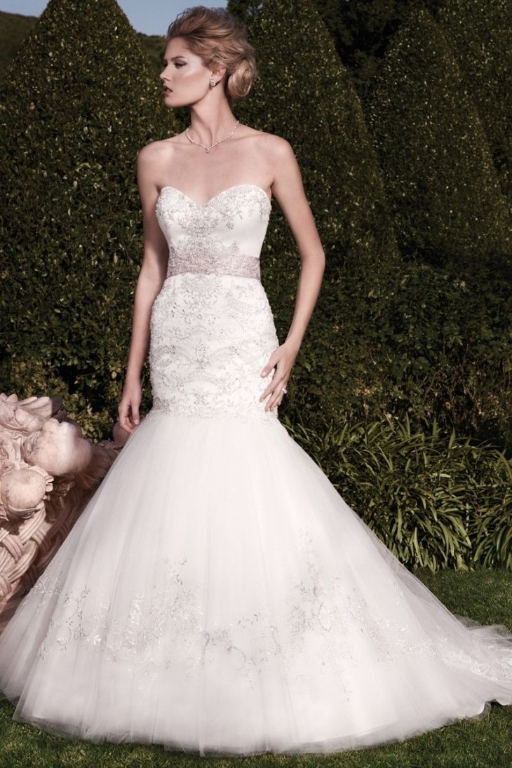 Wedding Dress out of Casablanca Bridal Style  This