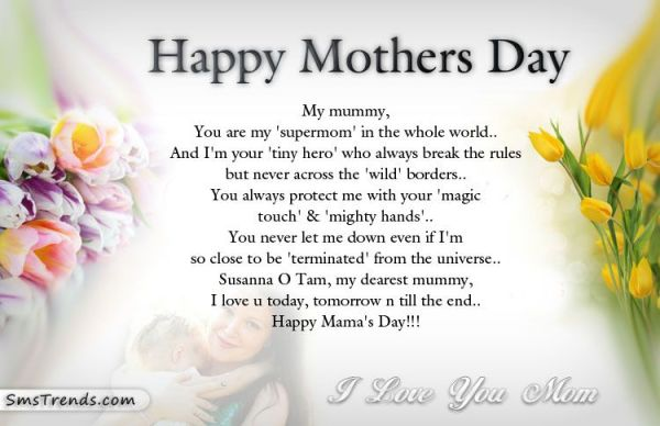 Happy Mother Day Poems 2016 : Check best short Poems for ...