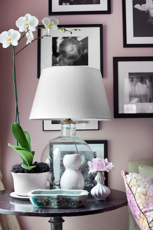 decor demon scott laslie blush pink walls paint color on best wall color for artwork id=56236