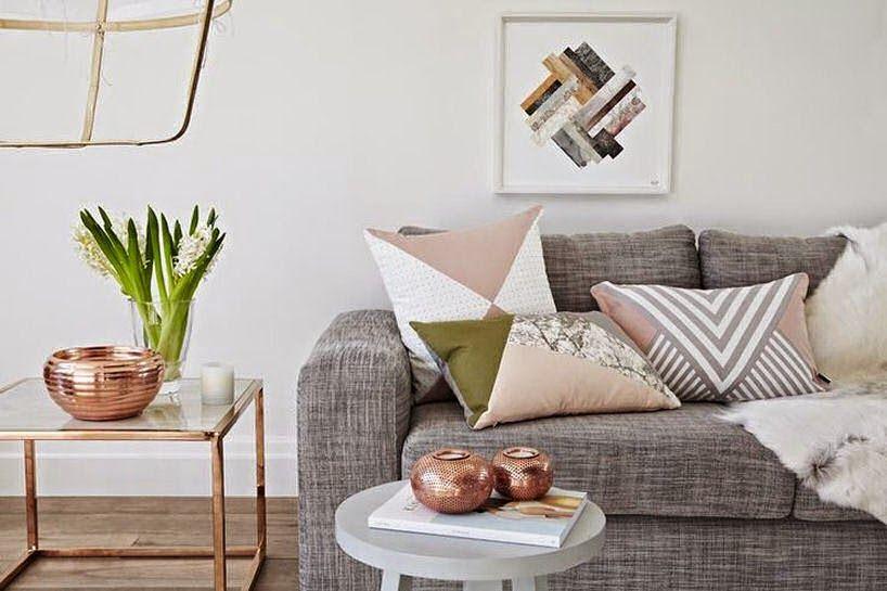 Rose Gold Home Decor Living Room Novocom Top