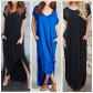 Mint boho maxi stretchy dress loose fit dresses size and comfy