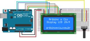Circuito Arduino e LCD 20x4 | ELECTRONICA | Pinterest