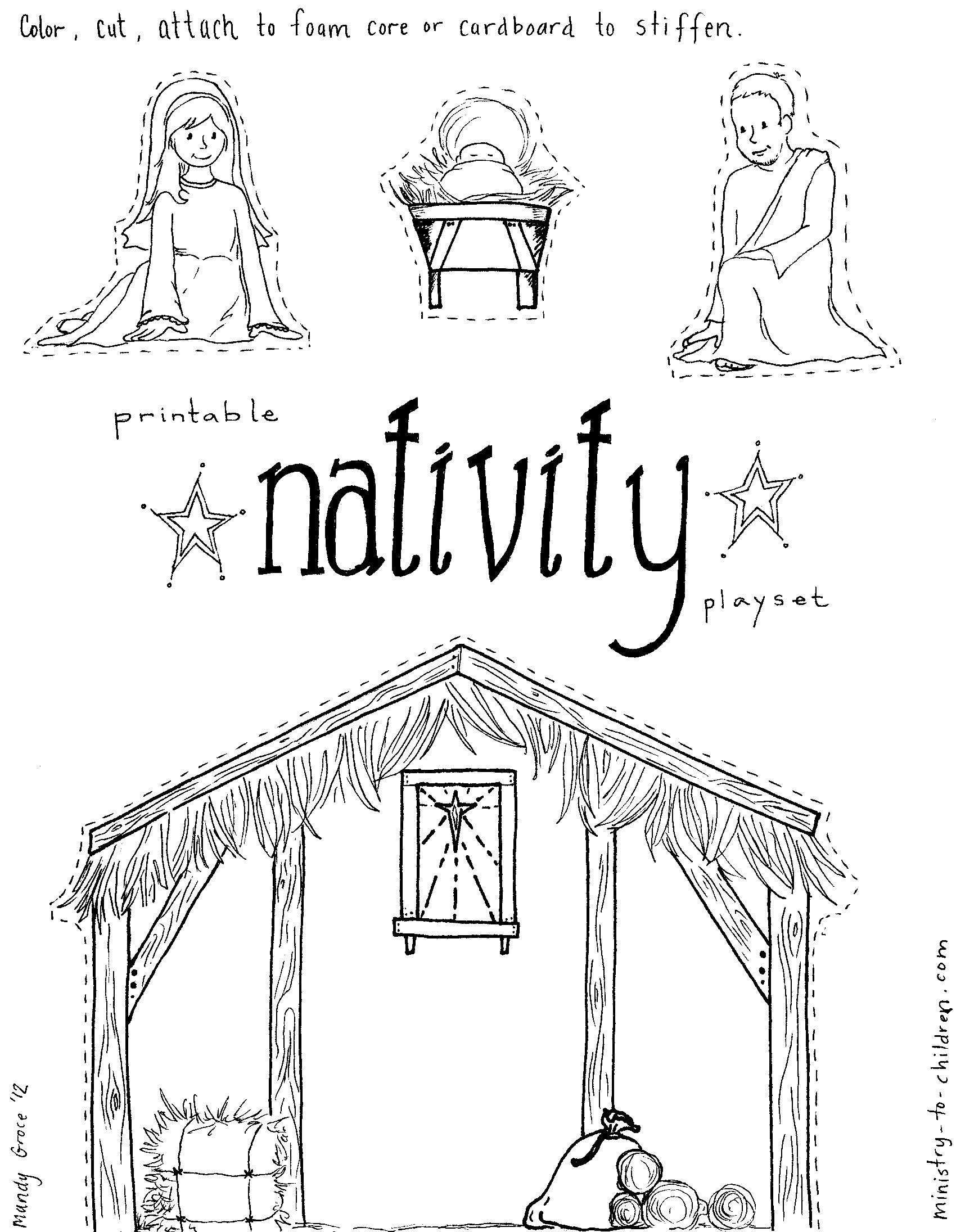 Diy Nativity