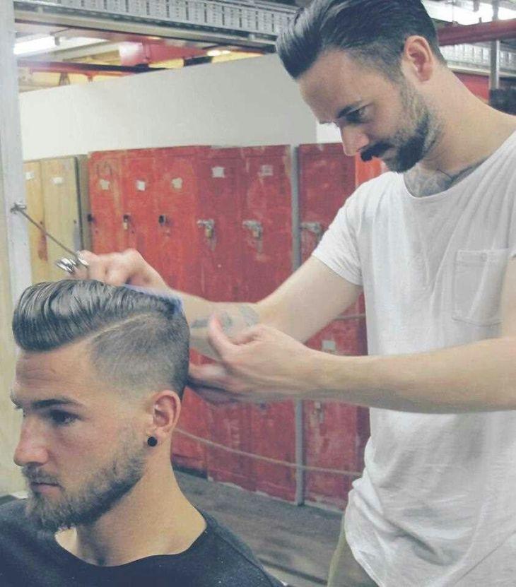 fadecut  Hairstyle  Pinterest  Haircut styles Fade cut and Hair