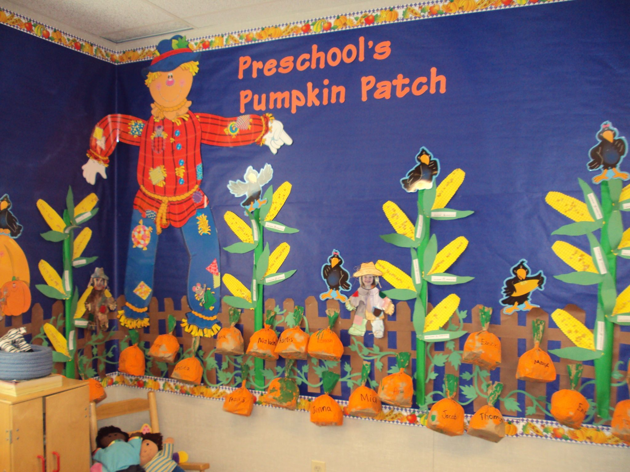 The Pumpkin Patch Starts Before Halloween Then Continue