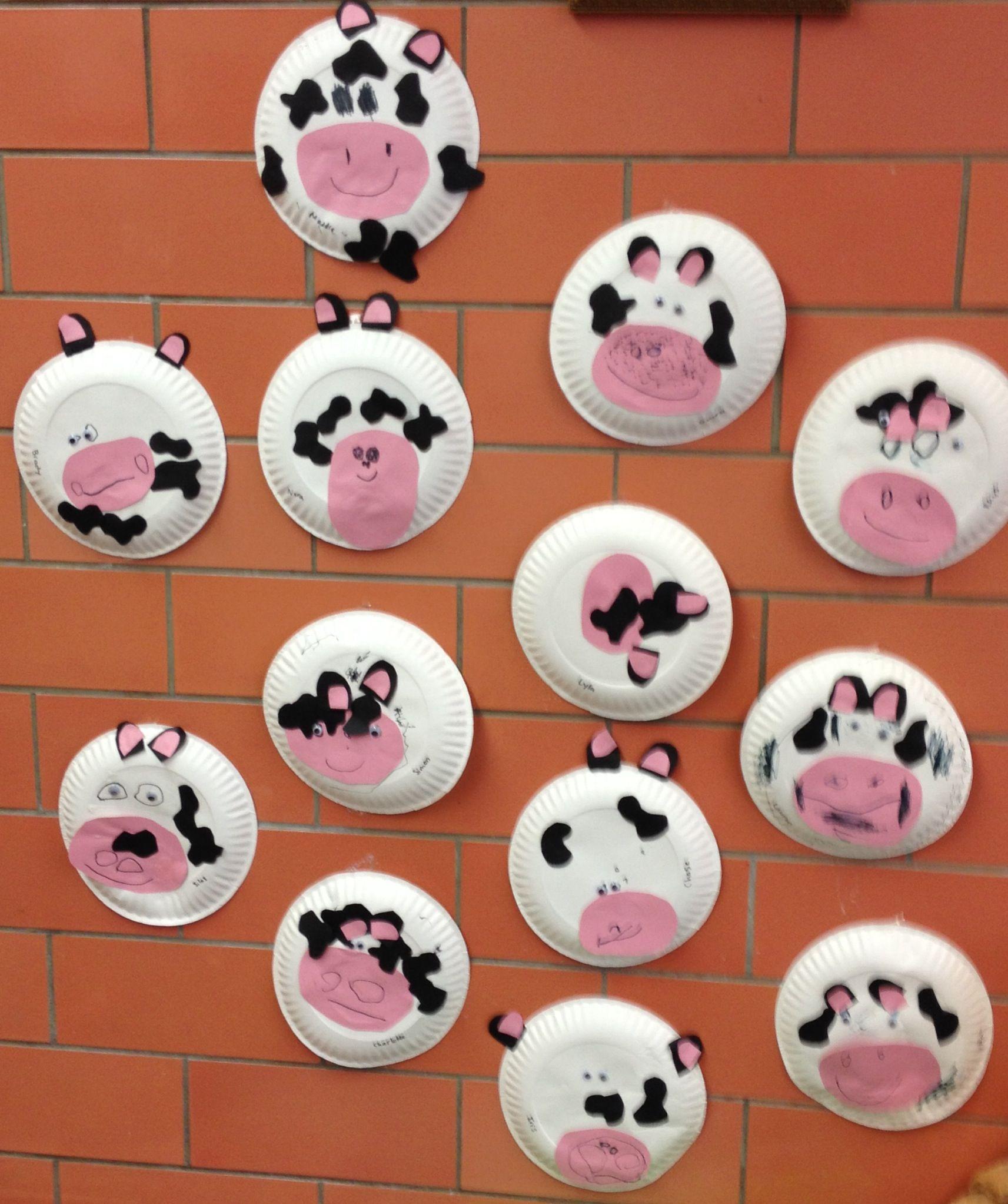 C Is For Cow Preschool Farm Craft