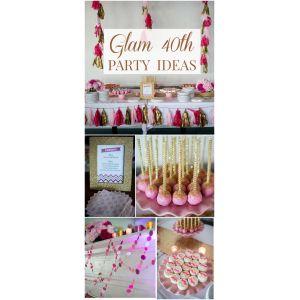 Joyous Friend Men 40th Birthday Ideas Glam Party