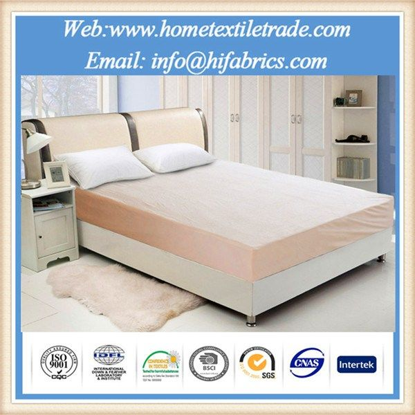 Bulk Waterproof Mattress Protector Polyester Knitted Material For King Size Bed In Virginia Beach Https