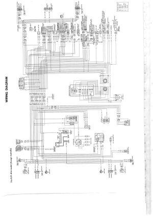 Wiring diagram for nissan 1400 bakkie #6   nissan
