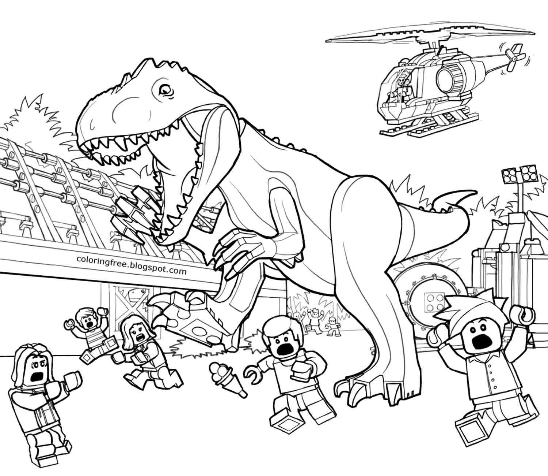 Paleontology Prehistoric Landscape Jurassic World Lego