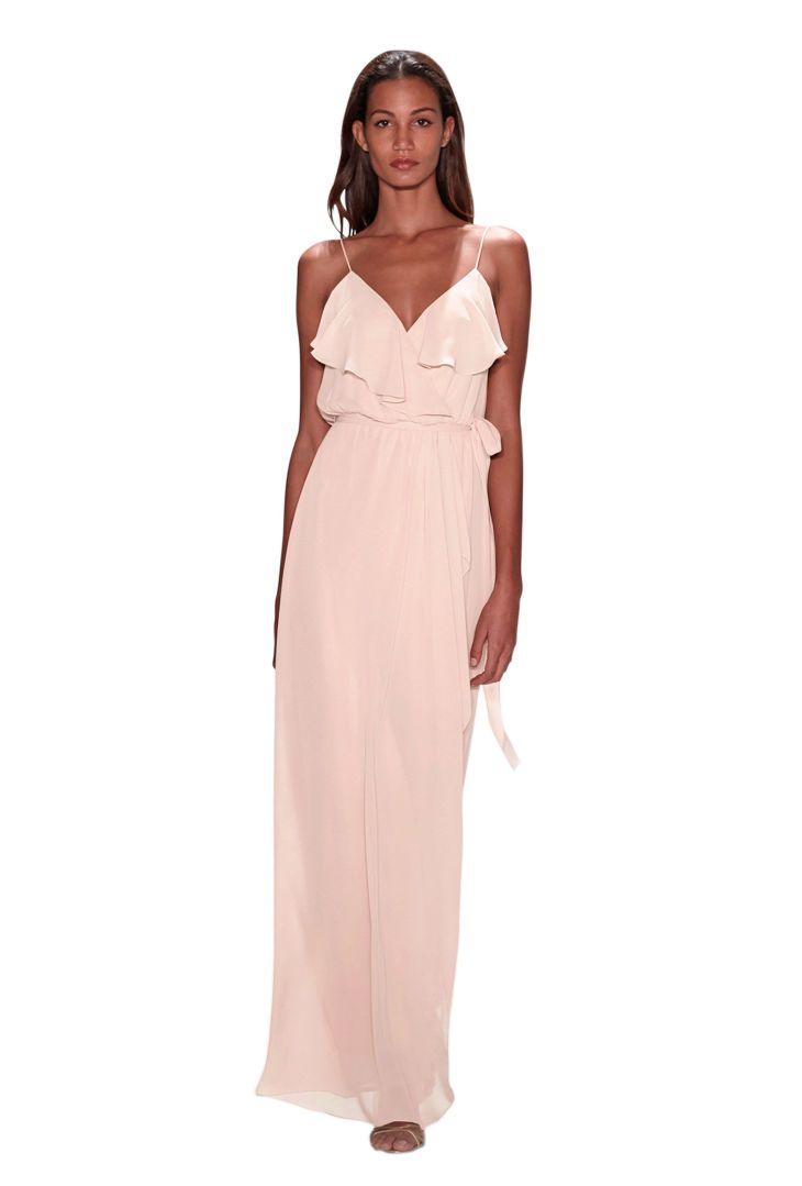 Nouvelle Amsale Drew  Chiffon bridesmaid dresses