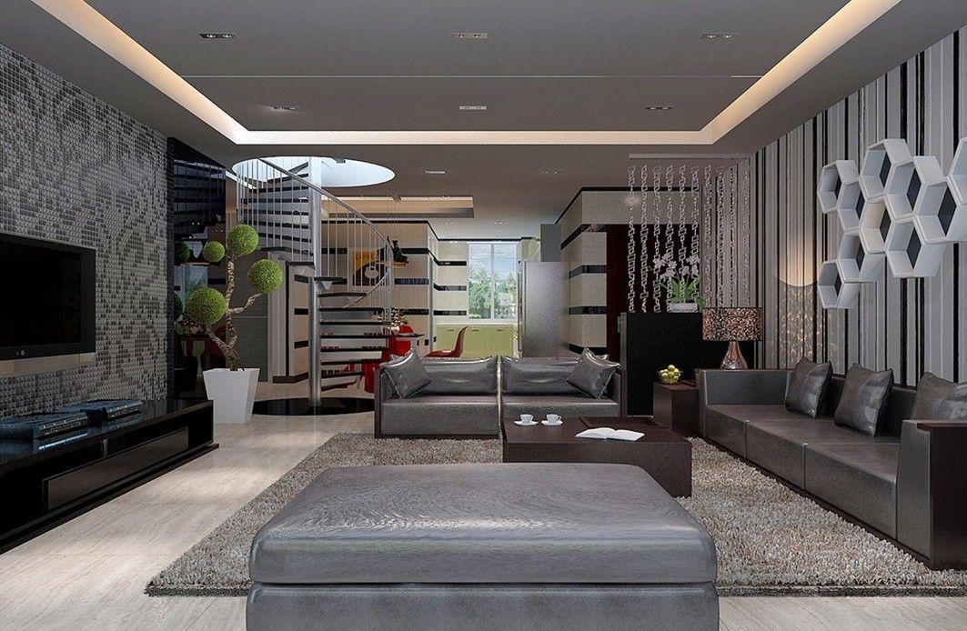 Cool Modern Interior Design Living Room