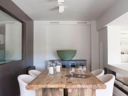decoration de maison salle a manger design style et confort en photos table