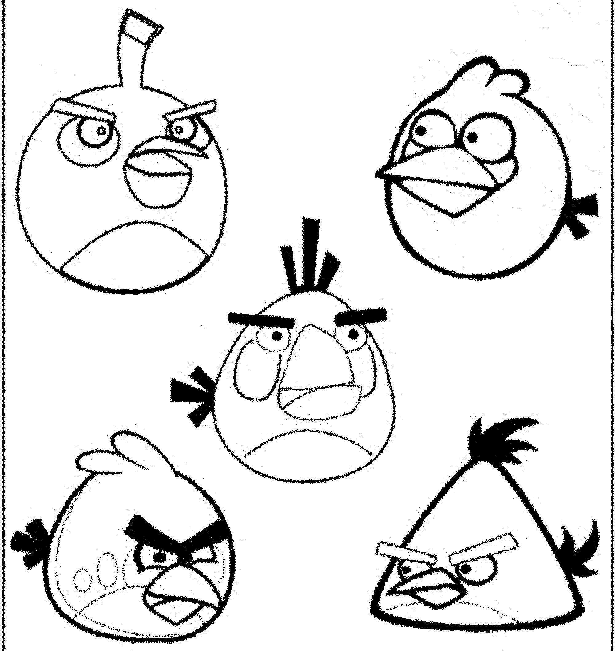 Angry Birds Coloring Books Colouring Pages Angry Bird