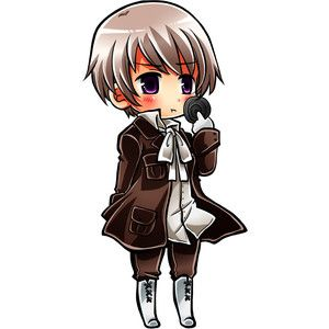 axis powers hetalia blonde hair chibi hajime kaniku iceland hetalia male purple eyes solo