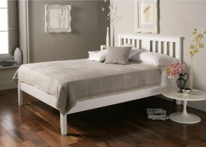 Best 25 White Wooden Bed Ideas On Pinterest Beds Frame Diy And King