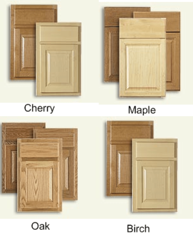Maple vs birch cabinets for Birch kitchen cabinets review