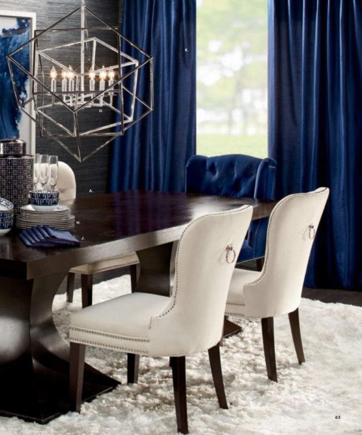 Z Gallerie Dining Table and Chairs Contemporary Home Office