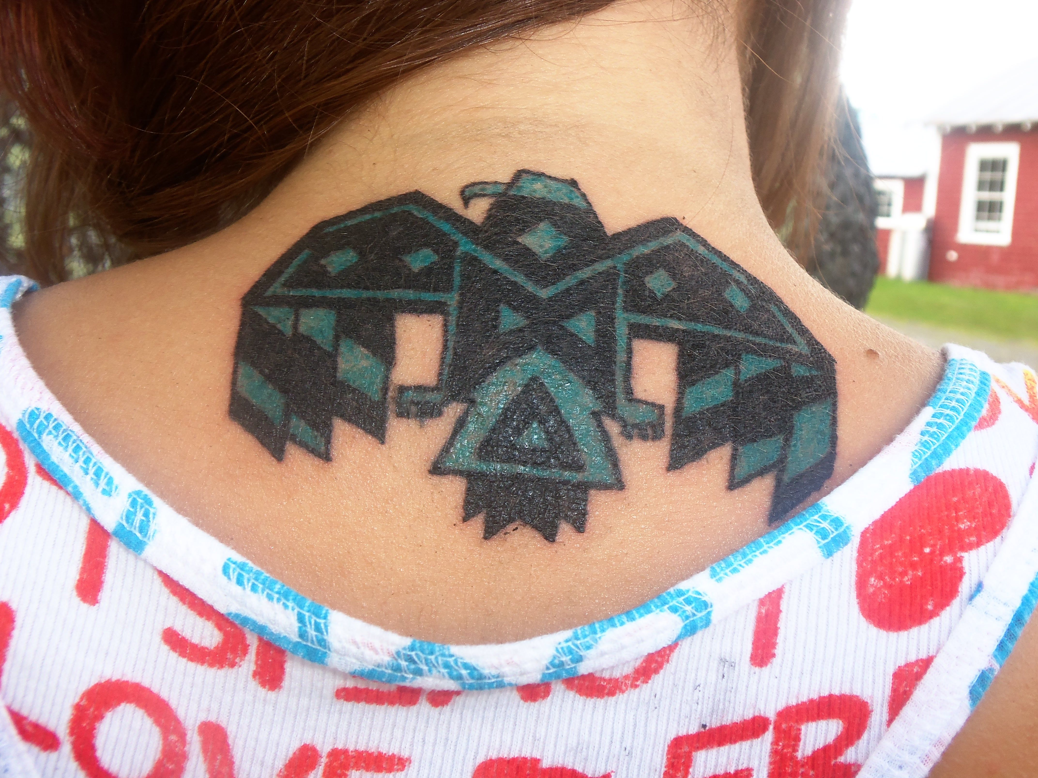 My Native American Thunderbird Tattoo July 26th 2013 Ink