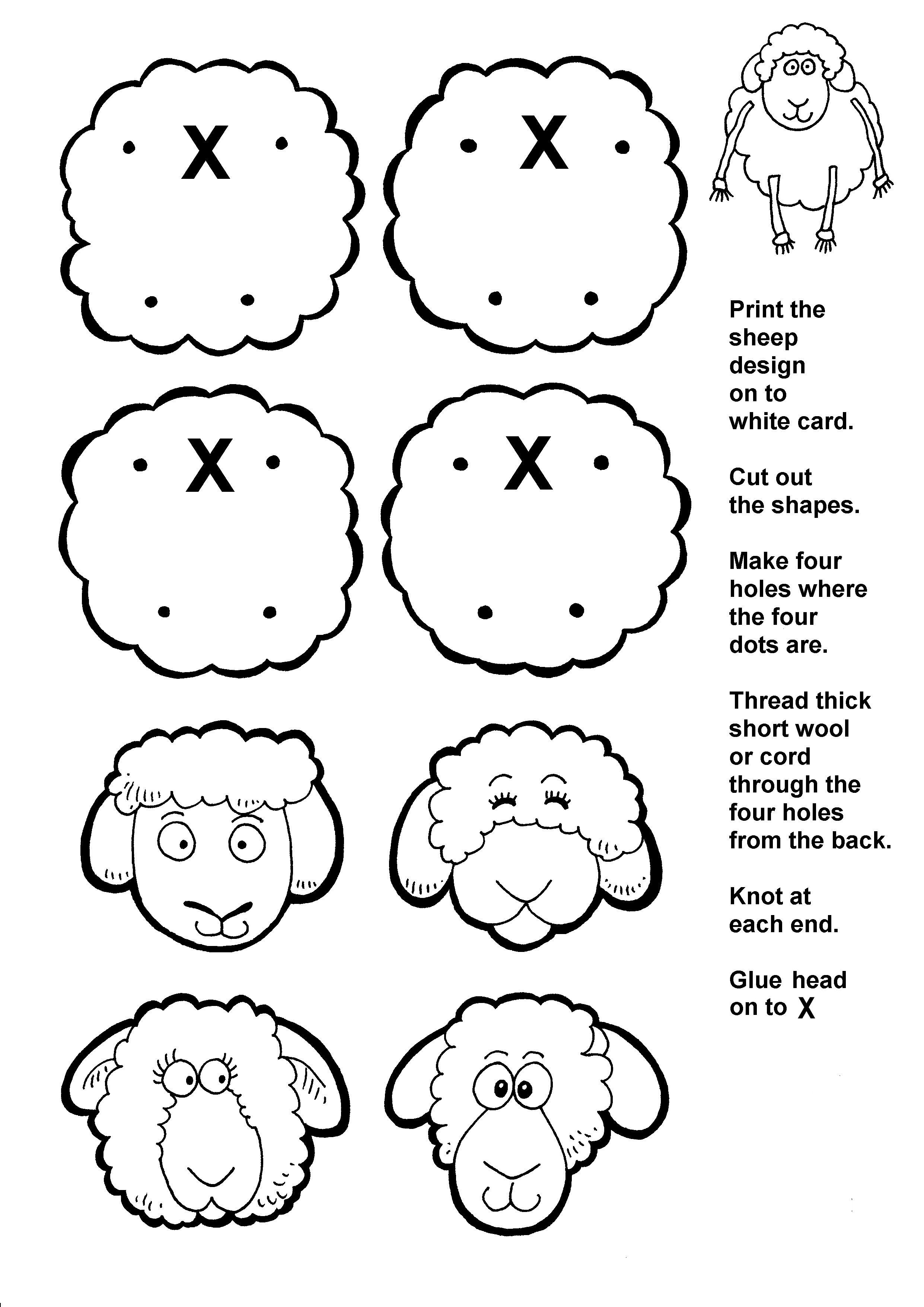 Lost Sheep Activity Page