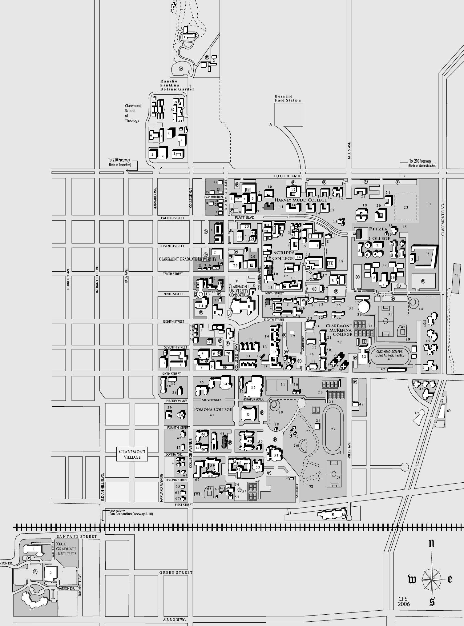 Los Angeles Harbor College Campus Map | Wiring Diagram Database