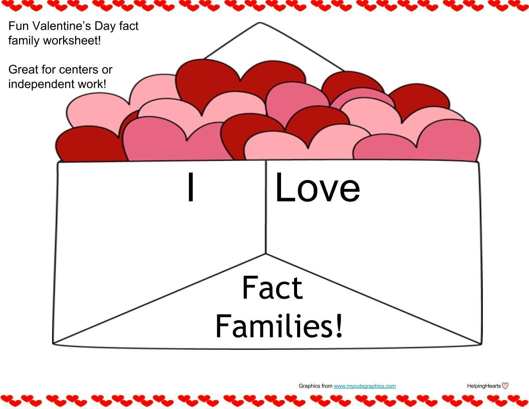 Valentine S Day Fact Families