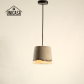 buy now industrial lighting fixtures vintage cement shade