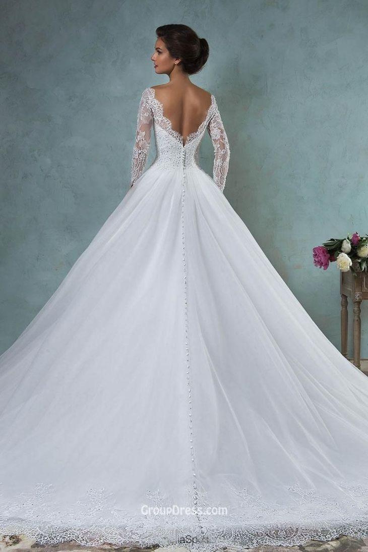 Elegant Beach Backless Wedding Dresses  Wedding Dresses  Backless