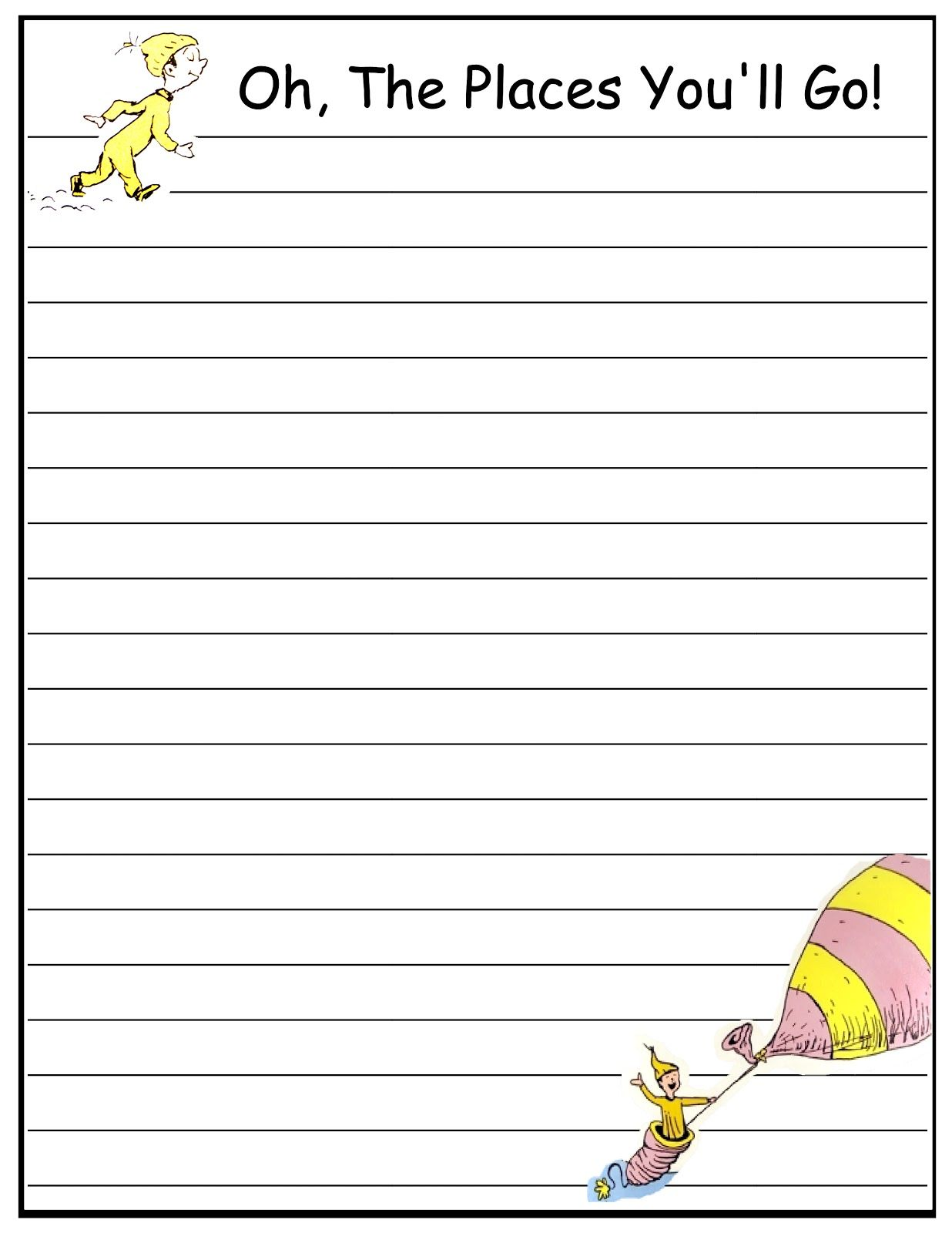 Dr Seuss Paper Free
