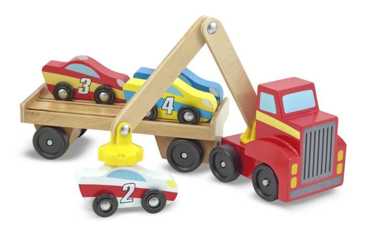 Magnetic Car Loader  Babypeuterkleuter speelgoed  Pinterest