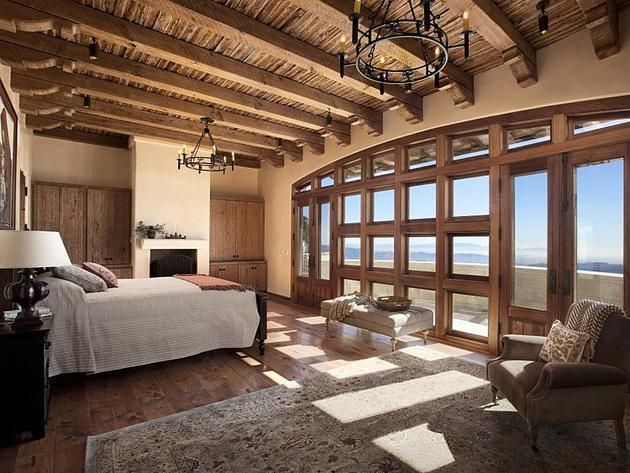 the best bedrooms of cool houses daily: scenic spanish-style