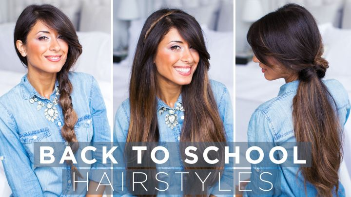 Quick and easy Back to School Hairstyles to check out how