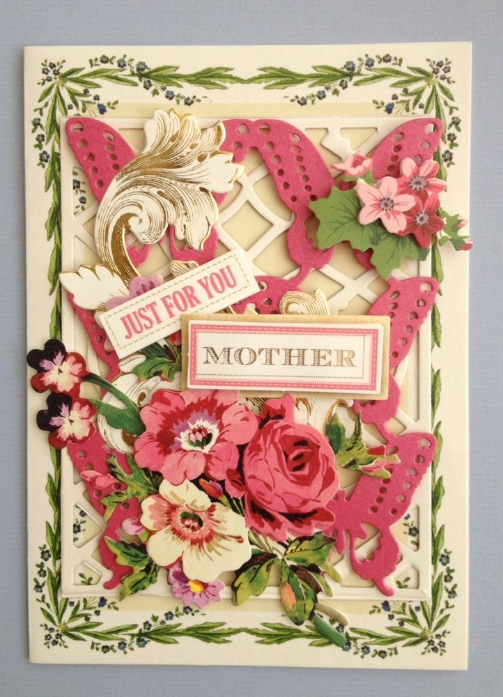 Anna Griffin Papercrafts Just For You Mother Handmade