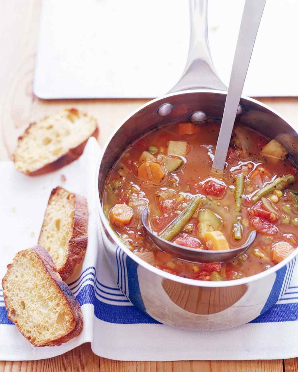 Types Of Veg Soups