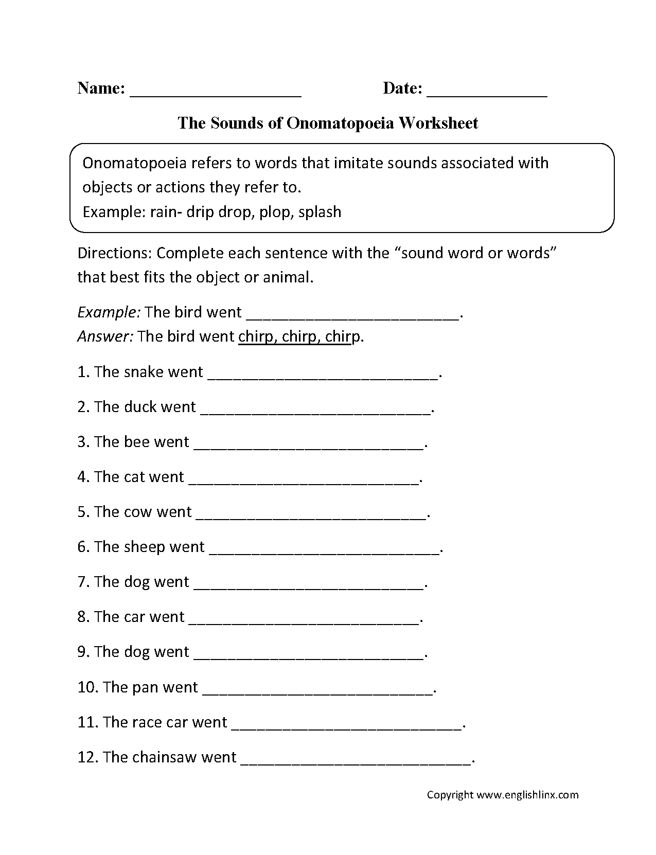 Alliteration Assonance Consonance Worksheet