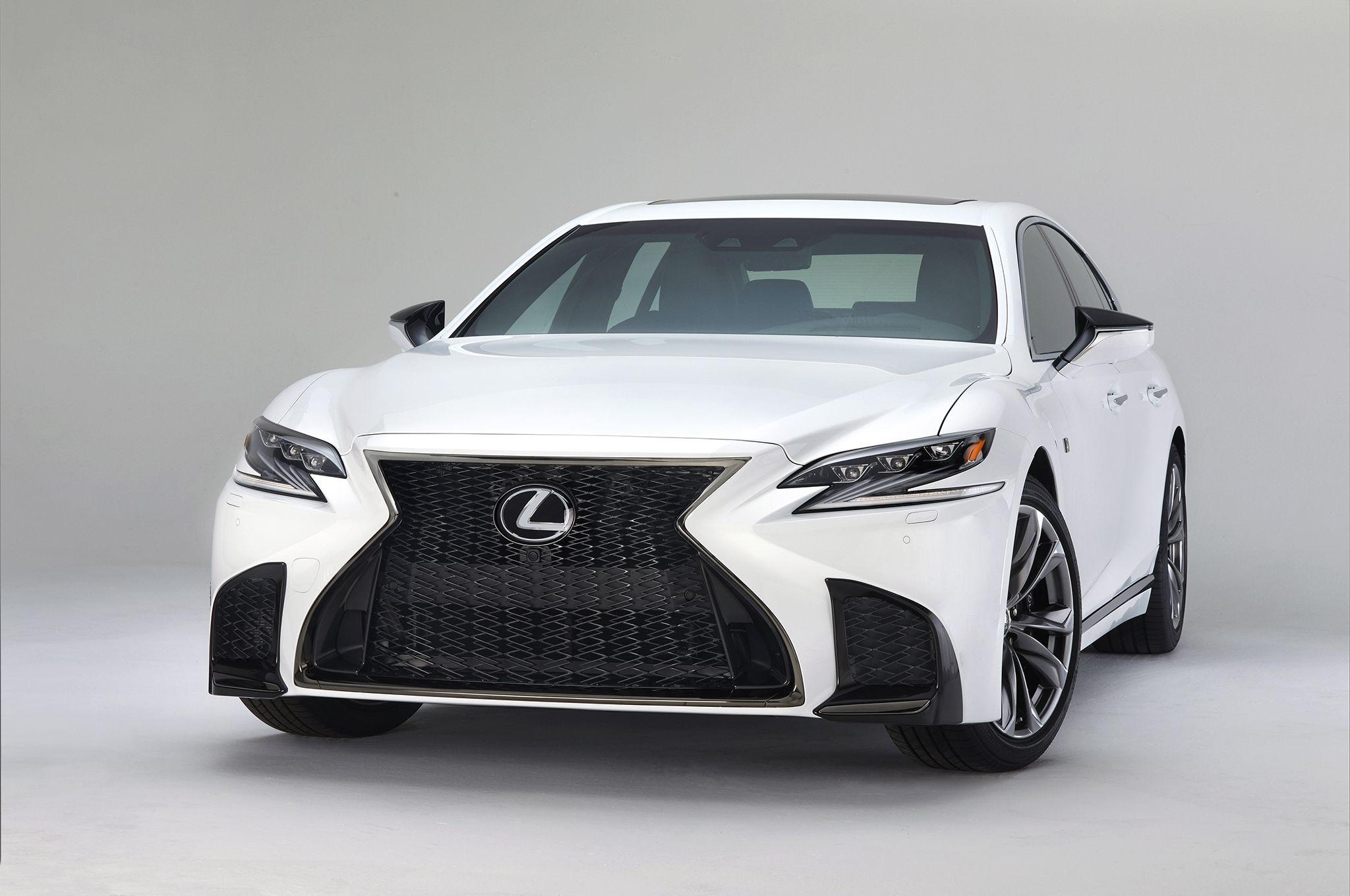 Following Geneva s debut of the hybridized 2018 Lexus LS 500h