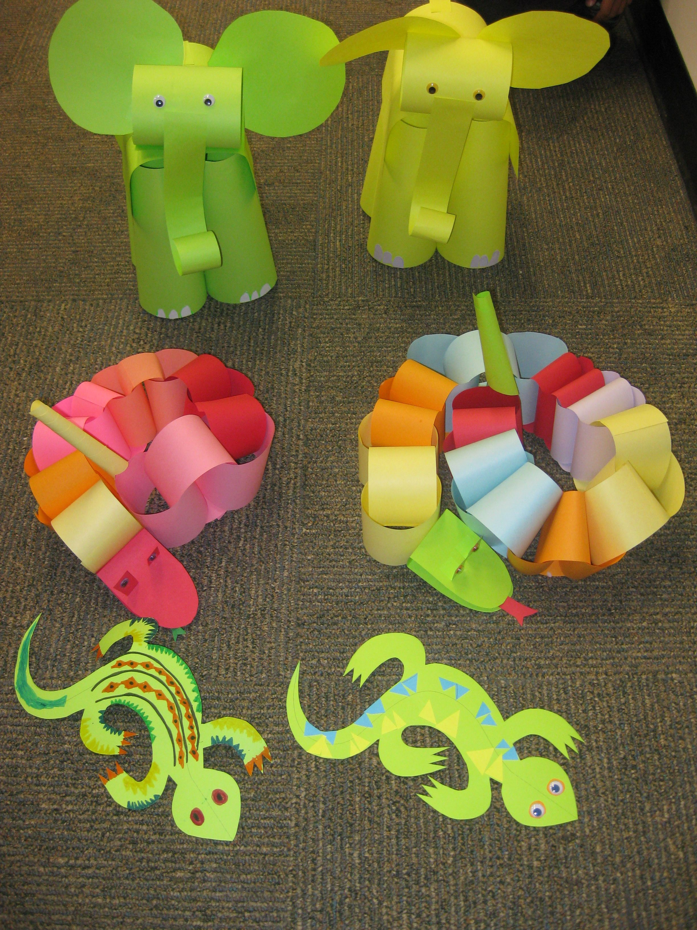 At Our August Paper Craft Program For Children We Escaped