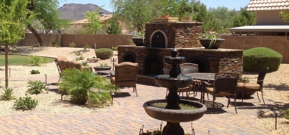 Arizona Backyard Landscaping | Desert Landscaping: Phoenix ... on Desert Landscape Ideas For Backyards id=89101