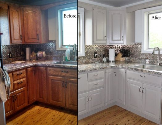 You Are On Before And After Oak Kitchen Cabinets Page We Provide Related Article Base Our Database