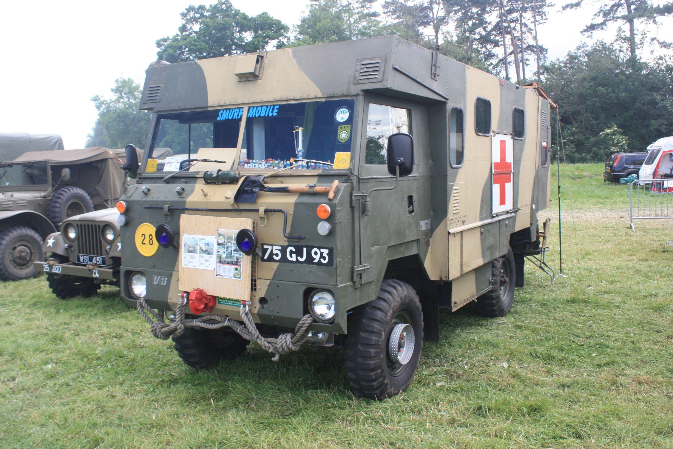 land rover ambulance landy Pinterest