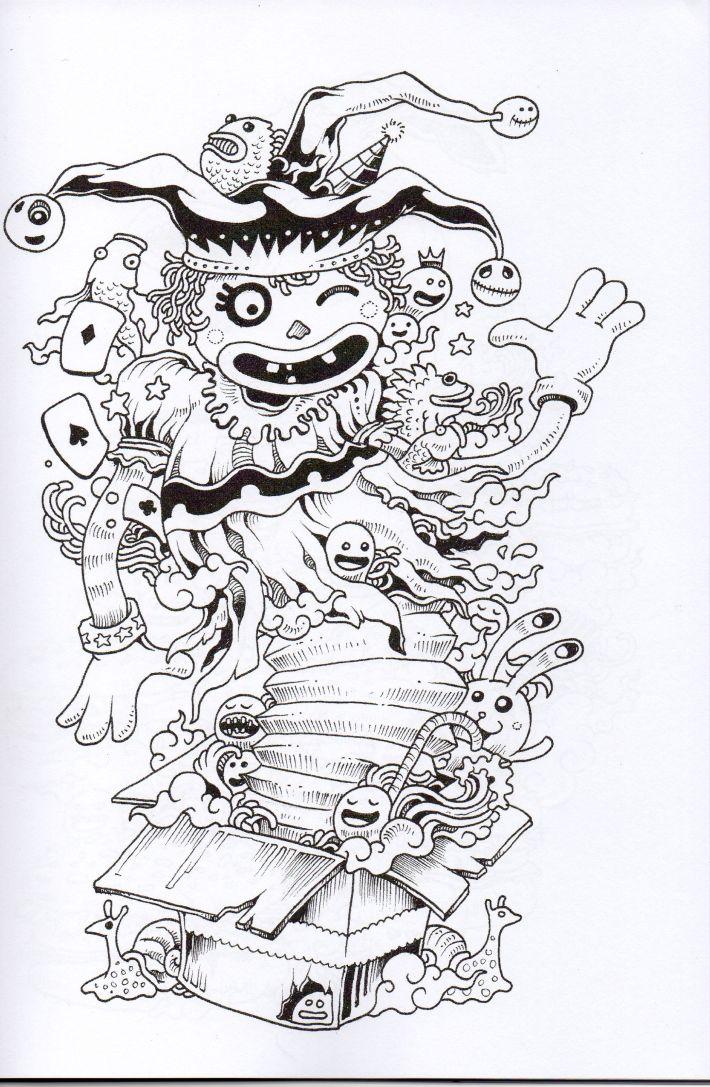 Doodle Invasion Zifflins Coloring Book Pdf Free