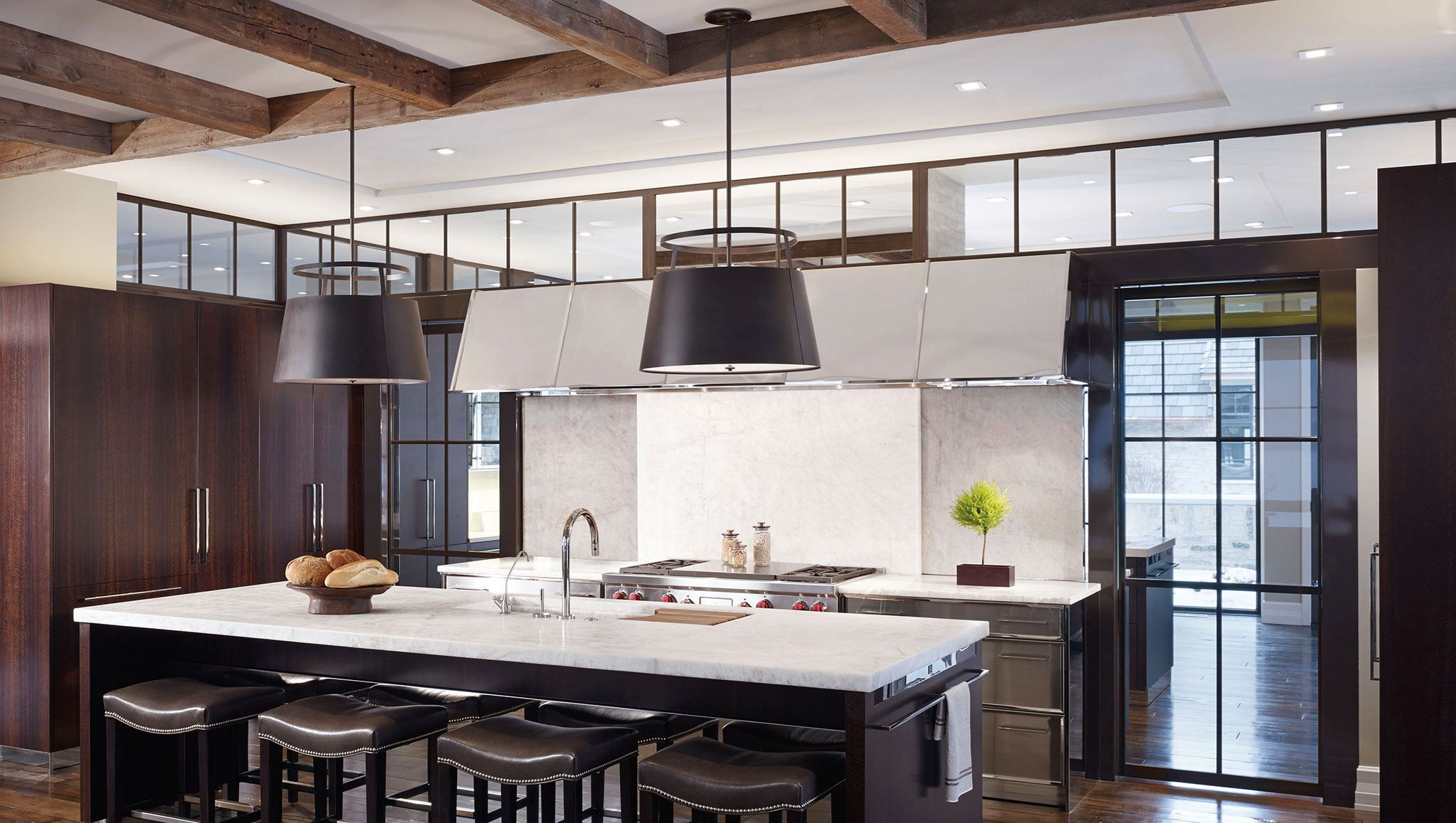 back-to-back kitchen | kitchen gallery | sub-zero | appliances