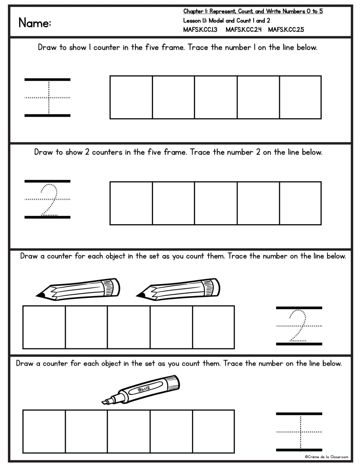 Florida Mafs Practice Pages For Go Math S Teacherspayteachers Product