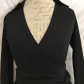 Express long sleeve collared wrap dress express dresses wrap
