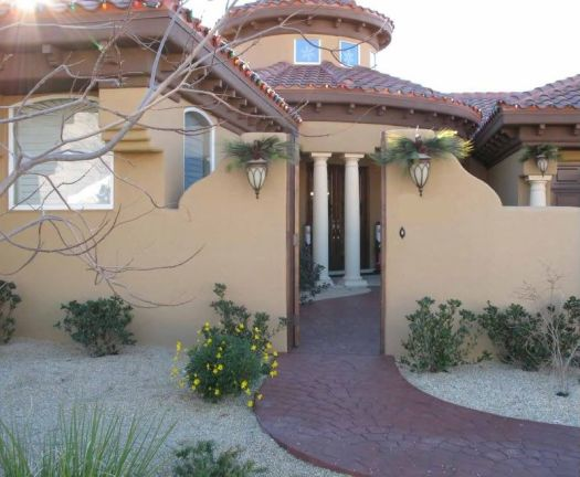 Spanish Style Exterior Paint Color Suggestions For Mediterranean Home