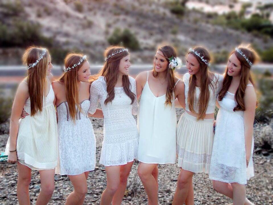 Bride And Bridesmaids Pre-wedding Photoshoot. SO FUN!