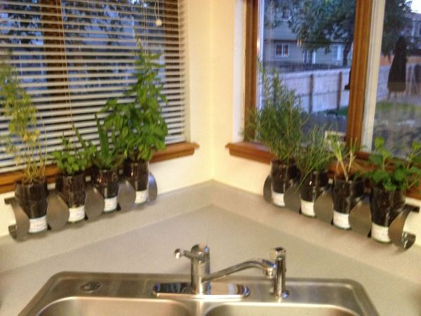 indoor herb garden ikea hack IKEA hack kitchen herb garden! | Gardening | Pinterest