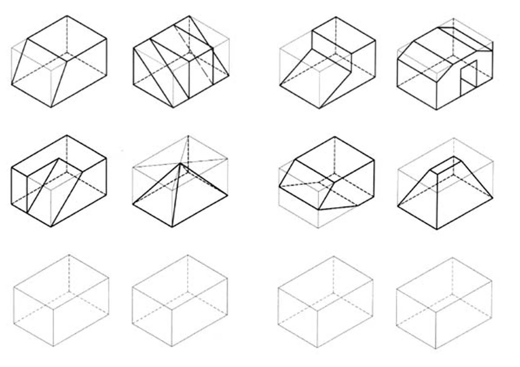 Isometric Drawing Dibujo Tecnico