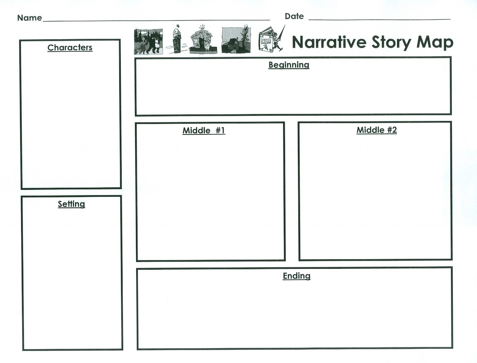 Narrative Planner Template