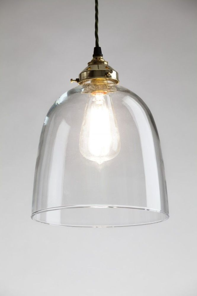The Bell N Glass Pendant Light From Holloways Of Ludlow S New Collection Old School Electric